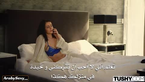 ملكة جمال سكسية تسمح فقط للزب الكبير ان ينيك مؤخرتها